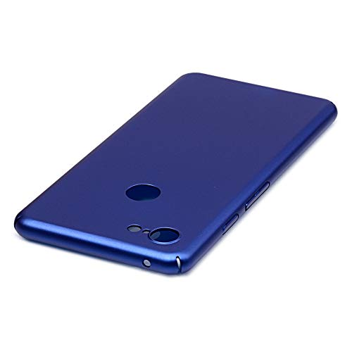 For Google Pixel 3 XL Thin Case Hard Matte Anti-Scratch Skin Ultra-Thin Lightweight Slim Minimal Pixel 3XL Cover 2018 (Navy - Skin Phone Blue