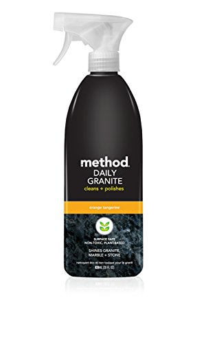 Method Daily Granite Cleaner, Orange Tangerine, 28 Ounce