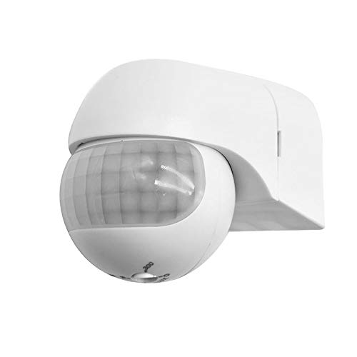 Identify Day and Night Motion Detector Outdoor ONEVER 180 /°Range Adjustable Infrared Sensor Switch