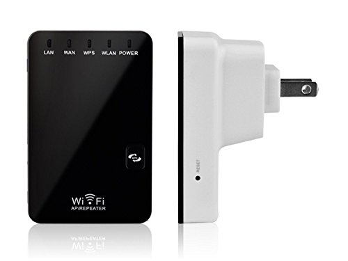Cordless Repeater - Wifi Signal Repeater Booster Wireless Cordless N G Network 300Mbps WPS Router