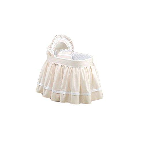 BabyDoll Sweet Petite Liner and Hood, Ecru, 17''x 31''