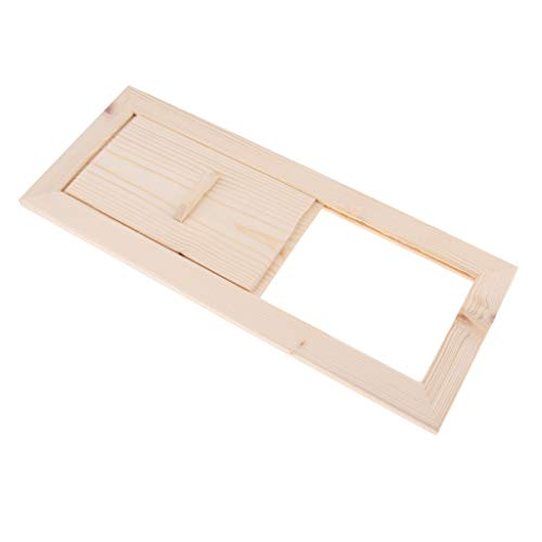 Fityle Cedar Sauna Air Ventilation Panel, 13x5.1inch, Sauna ()