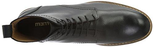 Mentor Laces Boot, Stivali Bassi con Imbottitura Leggera Uomo Nero (Nero (Nero))