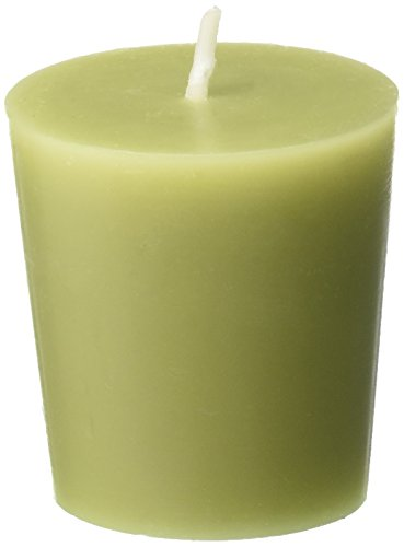 - Zest Candle 12-Piece Votive Candles, Sage Green