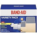 Band-Aid Brand Comfort-Flex Adhesive Bandages Variety Pack PDbPnb, 2Pack (280 Count)