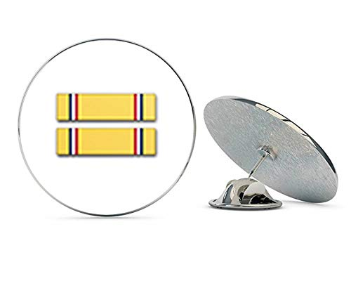 Veteran Pins US Army American Defense Service Medal Ribbon Metal 0.75