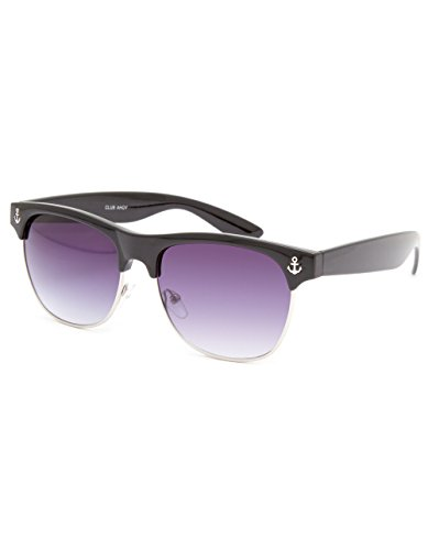 FULL TILT Anchor Clubmaster Sunglasses, (Sunglasses Anchor)