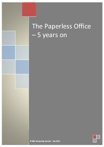 Download The Paperless Office – 5 years on Pdf
