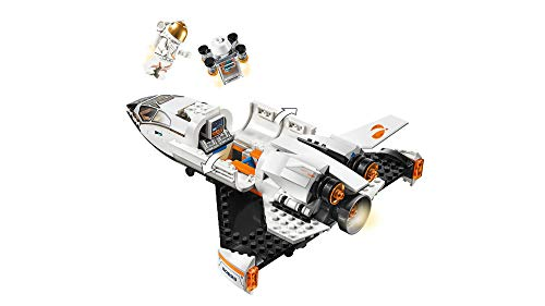 31BMK4%2BNArL - LEGO City Space Mars Research Shuttle 60226 Space Shuttle Toy Building Kit with Mars Rover and Astronaut Minifigures, Top STEM Toy for Boys and Girls, New 2019 (273 Pieces)