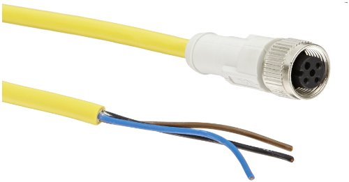 Eaton CSDS4A3CY2202 Micro DC Cable, 4 Pin, 22AWG Wire Size, 2m Length
