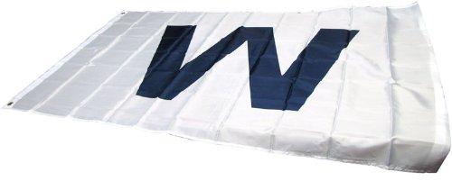 W Wringley Field Traditional Flag Color  Dark Blue