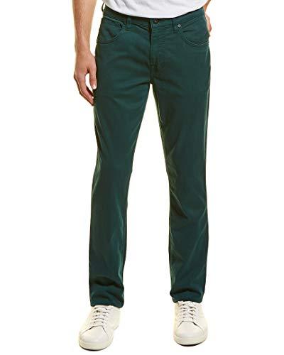(Hudson Jeans Men's Blake Slim Straight Zip Fly Twill, Ponderosa Pine 33)