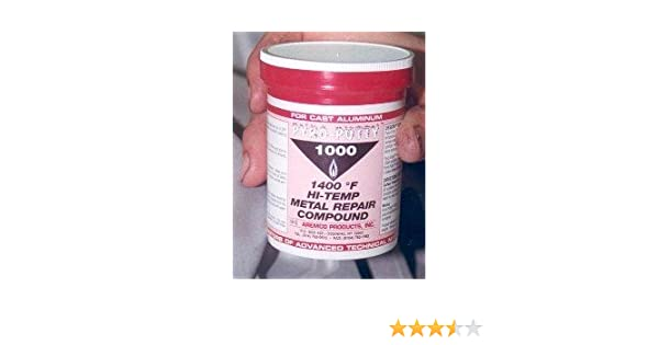 Adhesives, Sealants & Tapes Charitable Alvin 14 Oz Lab Metal Repair And Patching Compound Withstands Temps Up To 1000f