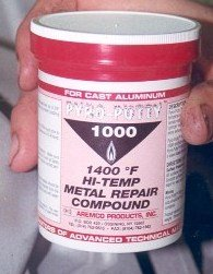 Charitable Alvin 14 Oz Lab Metal Repair And Patching Compound Withstands Temps Up To 1000f Adhesives, Sealants & Tapes Glues, Epoxies & Cements