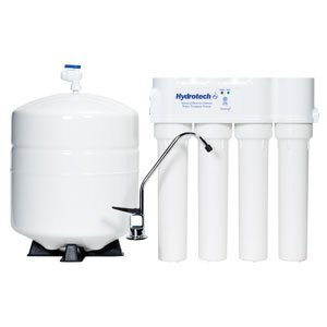 Hydrotech- 25 GPD Reverse Osmosis 4 Vessel Smartap® High Quality Push Button Monitored ()
