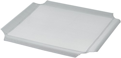 AmazonBasics Elevated Cooling Pet Bed Replacement Cover, XS, Grey