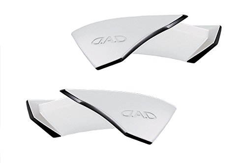 D.A.D(GARSON/ギャルソン)リアウィング 80系ヴォクシーZS/ノアSi 塗装済 純正ホワイト(070)ブラックツートン AD054-05C0702 B01MXOJKAL