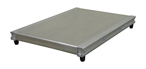 Magliner 303200 Mini Pallet for Hand Truck, Aluminum, 500 lb. Capacity, 18 Wide Opening with Deck, 500 fl. oz. Capacity, 14