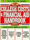 College Costs & Financial Aid Handbook 1998 (Serial)