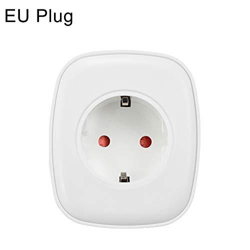 Shentesel Smart Plug Socket WiFi APP Remote Control Auto Timer On/Off Switch Power Monitor - EU Plug
