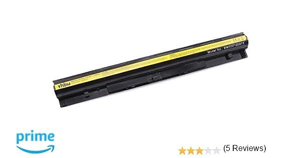 vhbw batería 2200mAh (14.4V) para Notebook, Laptop Lenovo IdeaPad G50-30, G50-45, G50-70, G50-70A, G50-70M, G50-75, G50-80, G500s y L12L4A02, L12L4E01
