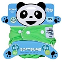 SoftBums Echo Shell with Snaps, Sprout