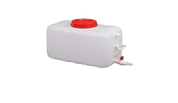 BLCVC Recipiente de Agua de 150L Recipiente de Agua de Gran Capacidad con Grifo Tanque de Agua Recipiente de Agua Recipiente de Almacenamiento de Agua Plástico: Amazon.es: Hogar