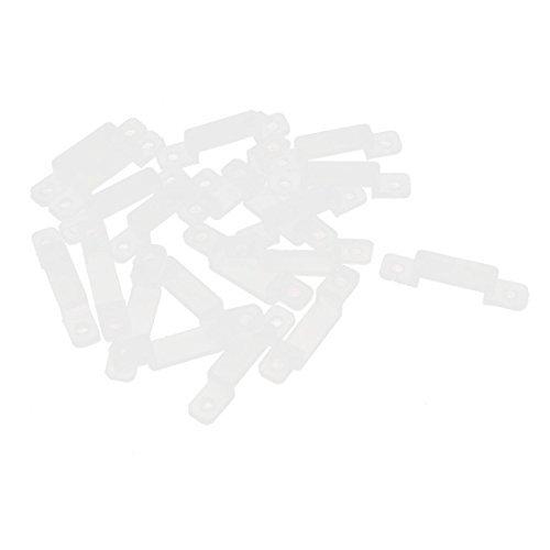 Fix Silicone de montagem clipe 20 Pcs para 14 milmetros 5050 5630 Fita LED