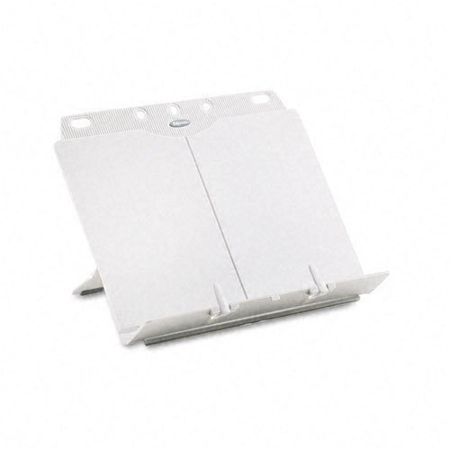- Fellowes : BookLift Adjustable Desktop Copyholder, Plastic, Platinum -:- Sold as 2 Packs of - 1 - / - Total of 2 Each by Fellowes