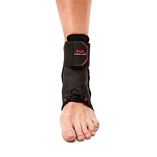 McDavid 195 Deluxe Ankle Brace with Strap (Black, Small) by McDavid (Image #3)