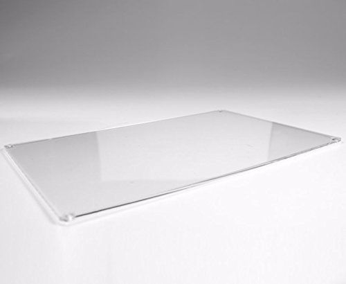 Rectangular Acrylic Plastic Placemat Colour Mix & Match 25% OFF WHEN YOU BUY 2 OR MORE (Clear Transparent)