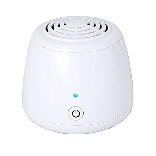 Ozone Generator Air Purifier, Bao Sheng@ USB Portable Remove Cigarette Smoke Odor Smell Bacteria Mini Air Cleaner Filter for Small Bedroom Pets Room Refrigerator Car Traveling (GL-136)