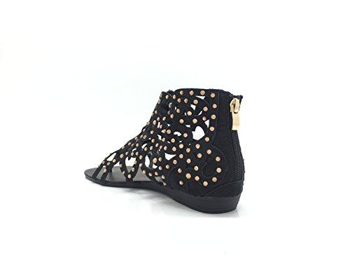 CHIC NANA - Zapatos de Punta Descubierta Mujer negro