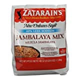 Zatarains Jambalaya Rice Mix, 40 Ounce - 6 per case.
