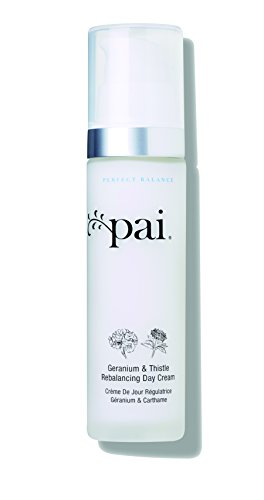 Pai Skincare Organic Geranium & Thistle Rebalancing Day Cream Moisturizer for Oily-Sensitive and Combination T - Zone Skin Control -50 ml ()