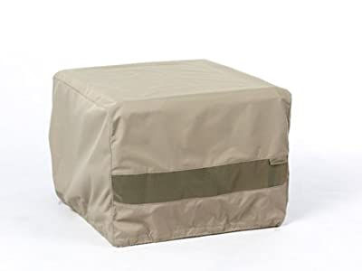 Covermates - Square Bar Height Firepit Cover - 42W x 42D x 35H - Elite Collection - 3 YR Warranty - Year Around Protection