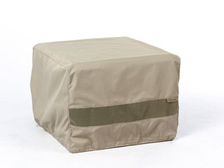 CoverMates – Square Patio Accent Table Cover – 30W x 30D x 18H – Elite Collection – 3 YR Warranty – Year Around Protection - Khaki