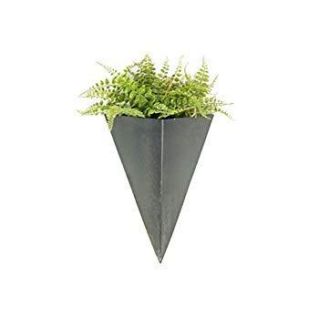 Metal Wall Planter Hanging Vase (1 Large) [並行輸入品] B07R1PWV1D