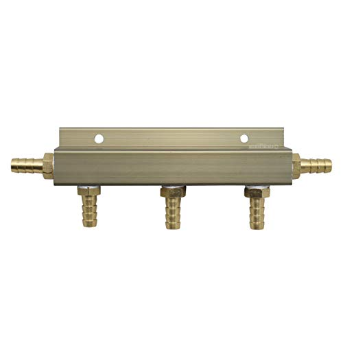 (4-way Pass-Through CO2 Splitter Manifold Air and Gas Distributor)
