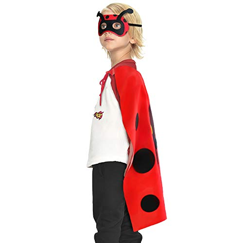 D.Q.Z Kids Lady Bug Costume for Toddler Boys Girls Animal Birthday Dressing Up Party Favors Red Black