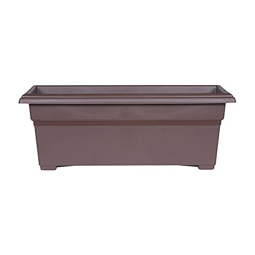 Novelty Patio Planter, 12-Inch x 27-Inch, Brown by Novelty