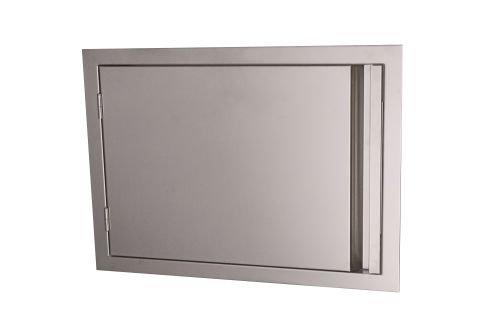 RCS Gas Grills VDH1 Valiant Stainless Steel Reversible Horizontal Door