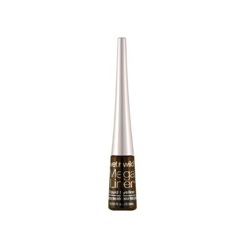 (3 Pack) WET N WILD Mega Liner Liquid Eyeliner - Dark Brown