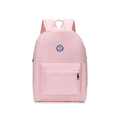 (New Backpack Waterproof Women Backpack Retro Portable Backpack Women Travel Bag School Bag For Teenage Girls Shoulder Bag,Pink Backpack,30X12X36Cm )