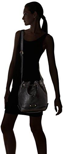 Le Temps des Cerises Jill 3 - Bolsa de hombro Mujer Negro (Noir)