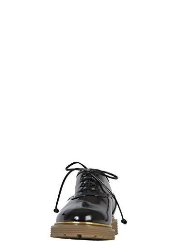 Charlotte Olympia De F159476PCA001 Mujer Charol Zapatos Cuero De Cordones Negro qp4qdr