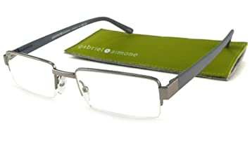 Simone Concorde Brown Men Reading Glasses Gabriel