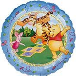 Winnie the Pooh & Friends - 18 inch Happy Birthday Mylar Balloon]()