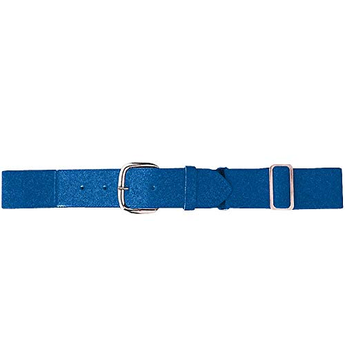 (Augusta Sportswear Kids' Elastic Baseball Belt, Royal, One Size)