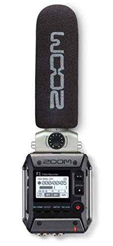 Zoom Video Microphone - Field Recorder/Shotgun Mic (F1-SP)